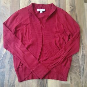 🌻5/$25🌻 FOREVER21 | Red Long Sleeve Sweater